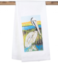 15 CONNIE K. PELICAN TEA TOWEL