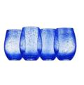 10 Iris Stemless Glass - Cobalt