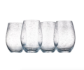 10 Iris Stemless Glass- Clear