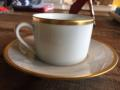B.I.A. Cordon Bleu SENAT GOLD TEA CUP AND SAUCER