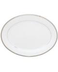 $243.00 White 13 inch Oval Platter