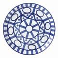 Dansk Arabesque Blue/White,Mr. Dansk Luncheon Plate