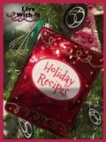 $11.00 Holiday Recipes Ornament