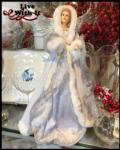 60 Snow Angel Christmas Tree Topper / Table Piece