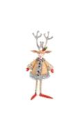 Patience Brewster Carolers Lennon Reindeer Boy Holiday Caroler Figure