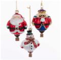42 Nobel Gems Hot Air Balloon Ornaments, Set of 3