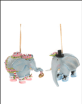 48 Elephant Mini Ornaments, Set of 2