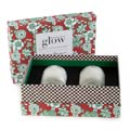 MacKenzie-Childs Glow Apothecary Winter Bouquet 5 Oz. Candles - Set Of 2
