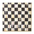 MacKenzie-Childs Courtly Check Tabletop Paper Napkins - Dinner - Gold