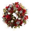 MacKenzie-Childs Seasonal Holiday 'Tis The Season Wreath