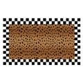 """MacKenzie-Childs Cheetah Rug - 2\'3"""" X 3\'9"""""""