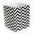MacKenzie-Childs Waste Bin - Black & Ivory