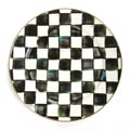MacKenzie-Childs Courtly Check Tabletop Enamel Charger/Plate
