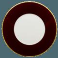 Robert Haviland & C. Parlon Lexington - Brown Chocolate Presentation Plate