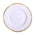 Robert Haviland & C. Parlon Colette Gold Dessert Plate