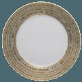 Robert Haviland & C. Parlon Syracuse Taupe Dinner Plate