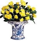 Mottahedeh Blue Canton Bough Vase