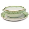 125 Apple Green Lace Cream Soup