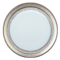 Mottahedeh Chinoise Blue Cake Plate White