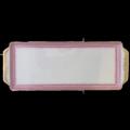 135 Pink Lace Sandwich Tray