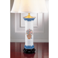 Mottahedeh Lamps Mandarin Bouquet Trumpet Lamp