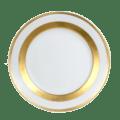 Robert Haviland & C. Parlon William Gold Dessert Plate