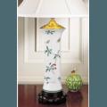 Mottahedeh Lamps Famille Verte Trumpet Lamp