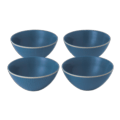44 Maze Grill Mixed Blue Cereal Bowls