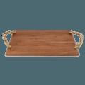 Michael Aram Wisteria Gold Bread Board