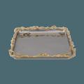 Michael Aram Wisteria Gold Square Plate