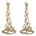 Michael Aram Wisteria Gold Candleholders (Set of 2)
