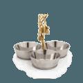 Michael Aram Ivy & Oak Triple Dish Set