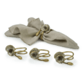 Michael Aram Anemone Napkin Rings (Set of 4)