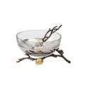 Glass Bowl with Spoon image