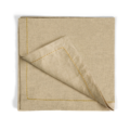 90 Gold Thread Saddlestitch Dinner Napkins