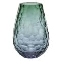 Moser Vases & Art Glass Stones Vase 12.2
