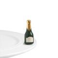 Nora Fleming Champagne Bottle mini