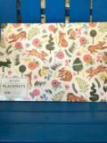 17.4 Hester & Cook Bunny Garden Paper Placemats, Pk 24