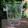 $54.95 Acrylic Ice Bucket with Knob Handles