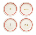 $47.00 French Appetizer Plates - Set of Four