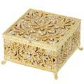 Olivia Riegel Windsor Boxes Gold Large Box