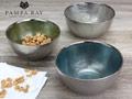 $16.25 Snack Glass Bowl - Blue