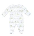 $40.00 Kissy Kissy Noah's Ark Printed Footie Pajamas