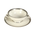 Pickard China  Geneva Geneva Cream Soup Cup & Liner