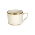 Pickard China Signature Ivory China Body Gold With No Monogram Pattern Can Tea Cup