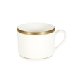 Pickard China Signature White China Body Gold With No Monogram Can Tea Cup