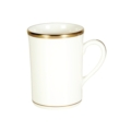 Pickard China Signature White China Body Gold With No Monogram Can Mug