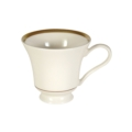 Pickard China Signature Ivory China Body Gold With No Monogram Pattern Margaret Tea Cup