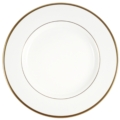 Pickard China Signature Ultra-White China Body Gold With No Monogram Charger Plate
