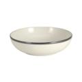 Pickard China Signature Ivory China Body Platinum With No Monogram Pattern Cereal Bowl